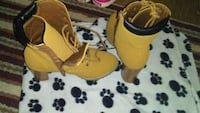 pair of yellow-and-black inline skates Kitchener, N2A