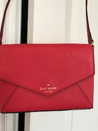 red Michael Kors leather crossbody bag King, L7B