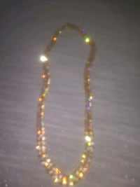 Cuban link chain iced out