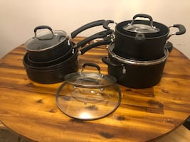 11 piece T-Fal pan/pot set