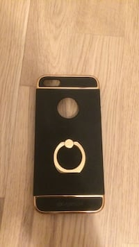 Svart iphone 5/5s deksel