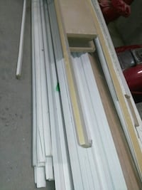 white wood plank lot