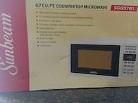 New microwave in box Fayetteville, 28314