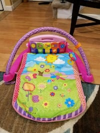 baby's pink and green activity gym Lawrence, 01843