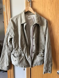 gray button-up jacket Ames, 50014