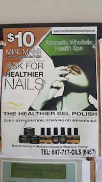 The Healthier Gel Polish poster