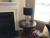 Coffee Table with 2 end tables and 2 lamps   Raleigh