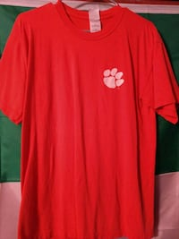 Clemson Tigers Orange T-shirt Size M