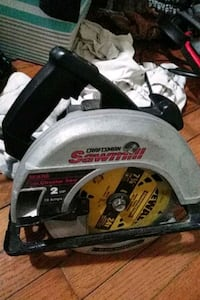 craftsman 7 in circular saw 10 amp corded good condition