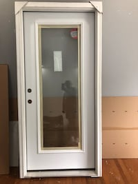 New 36x80 Pre Hung Right Hand Swing Full View Entry Door Washington, 20020