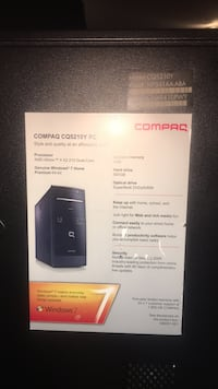 Compaq computer tower package