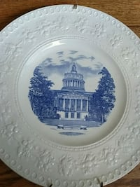 University of Rochester plate Pittsford, 14534