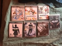12 PlayStation 3 games  Hyattsville, 20785