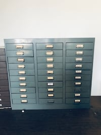 30 drawer letter-size file cabinet Huntington Beach, 92648