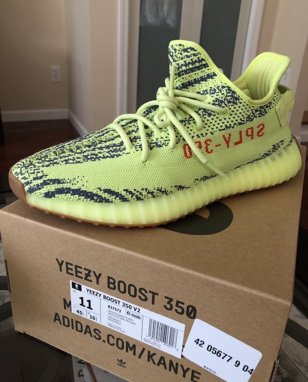 a1b70c52925 Used ADIDAS YEEZY BOOST 350 V2 Frozen Yellow for sale - letgo