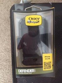 Otter Box & Clip iPhone 4&4S(New ) Silver Spring, 20905