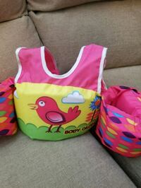 Girls swim vest with aem floatys attached.  Antelope, 95843