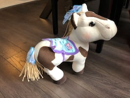 Cabbage patch pony plush horse