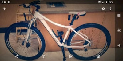 Reliegh Eva 3 hybrid mountain bike custom build