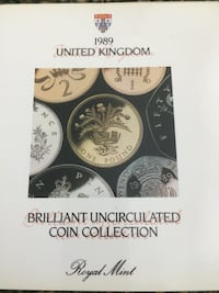 1989 Uncirculated Coin Collection
