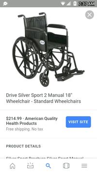 Drive Silver Sport 2 Wheelchair  Knoxville, 37921