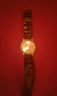 Brand new quartz watch with leather band Rockwood, 37854