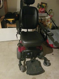 black and red motorized wheelchair Jacksonville, 32257