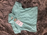 baby's teal onesie Laurel, 20707
