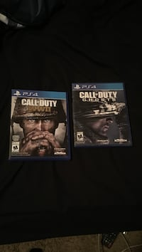 Call of duty ww2 and ghosts Grande Prairie, T8X