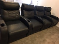 4 Theater Chairs - Like New Condition Waldorf, 20601