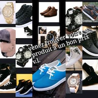 assorted-color-and-brand shoe lot collage Laval, H7K 2K8