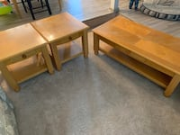 Coffee table and 2 side tables Gaithersburg, 20879