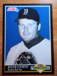"Roger Clemens ""The Franchise"" baseball card Victoria, V9A 3M7"