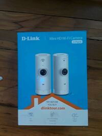 D-Link HD Mini Wi-Fi Security Cam (2pack) Englewood, 80110