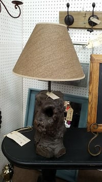 Tree Stump Lamp 1931 mi