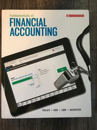 Fundamentals of Financial Accounting Text Book Port Alberni