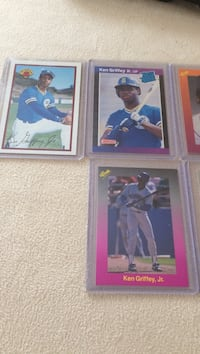 Ken Griffey Jr. and Randy Johnson rookie cards Hagerstown, 21740