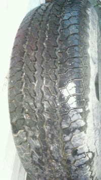 Brand new 15 inch truck tire with rim.took picture Knoxville, 37917
