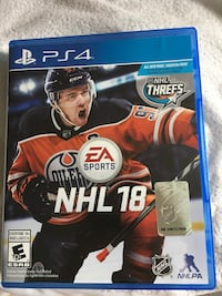 NHL 18 for PS4 Guelph, N1K