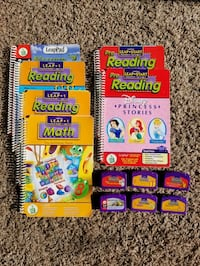 Leap pad books and cartridges Woodbury, 55125