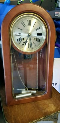 Antique Waltham Stamford 31-Day Chime Clock