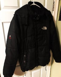 North face winter down parka summit series size large Toronto, M1R 3Z8