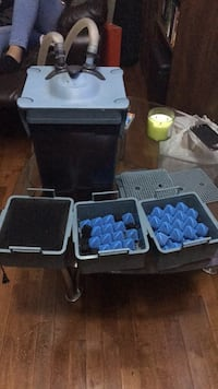 350 gallon capacity rena filstar canister filter xp3 full of bio balls in very good conditions Wheaton, 60187