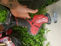 black and red Milwaukee cordless power drill Clifton, 07013