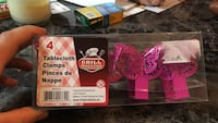 4-piece tablecloth clamps in box package Blainville, J7B 1H1