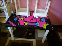 black and pink wooden table with chairs Rohnert Park, 94928