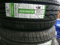 Tires/new price includes mounting and balancing