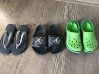 four pairs of assorted color shoes Edmonton