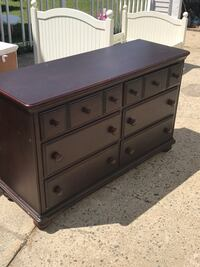 used solid wooden kids bedroom set twin size bed dresser and night stand for sale in nashua letgo. Black Bedroom Furniture Sets. Home Design Ideas