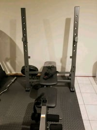 black and gray exercise equipment Gaithersburg, 20878
